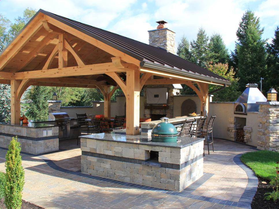 Design trends mid atlantic timberframes for Cost of outdoor living space