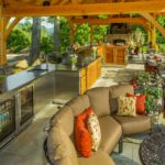 Timber frame pavilion HGTV