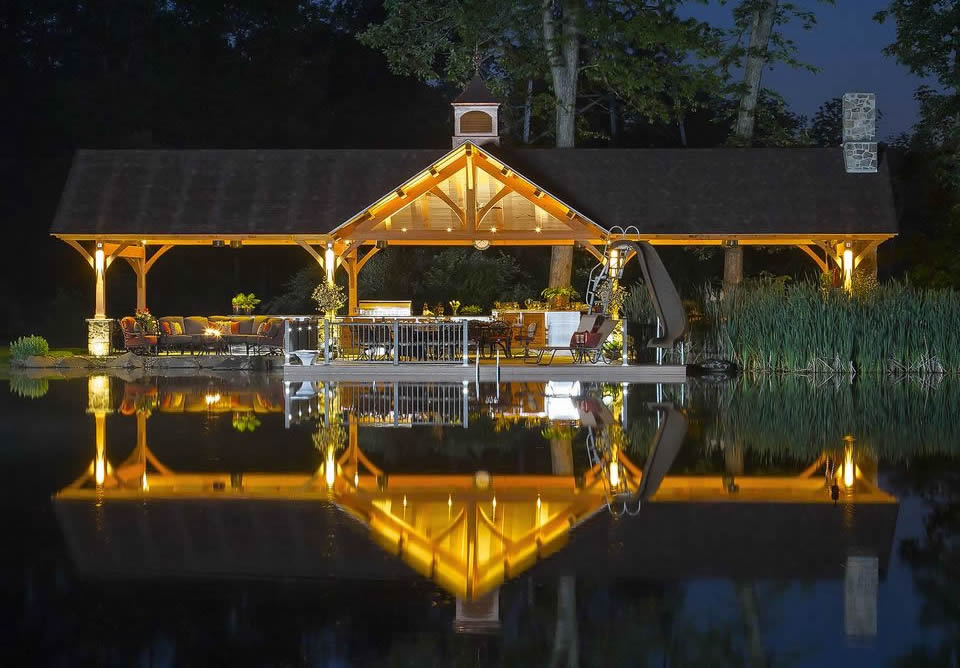 Timer frames enhance your outdoor living
