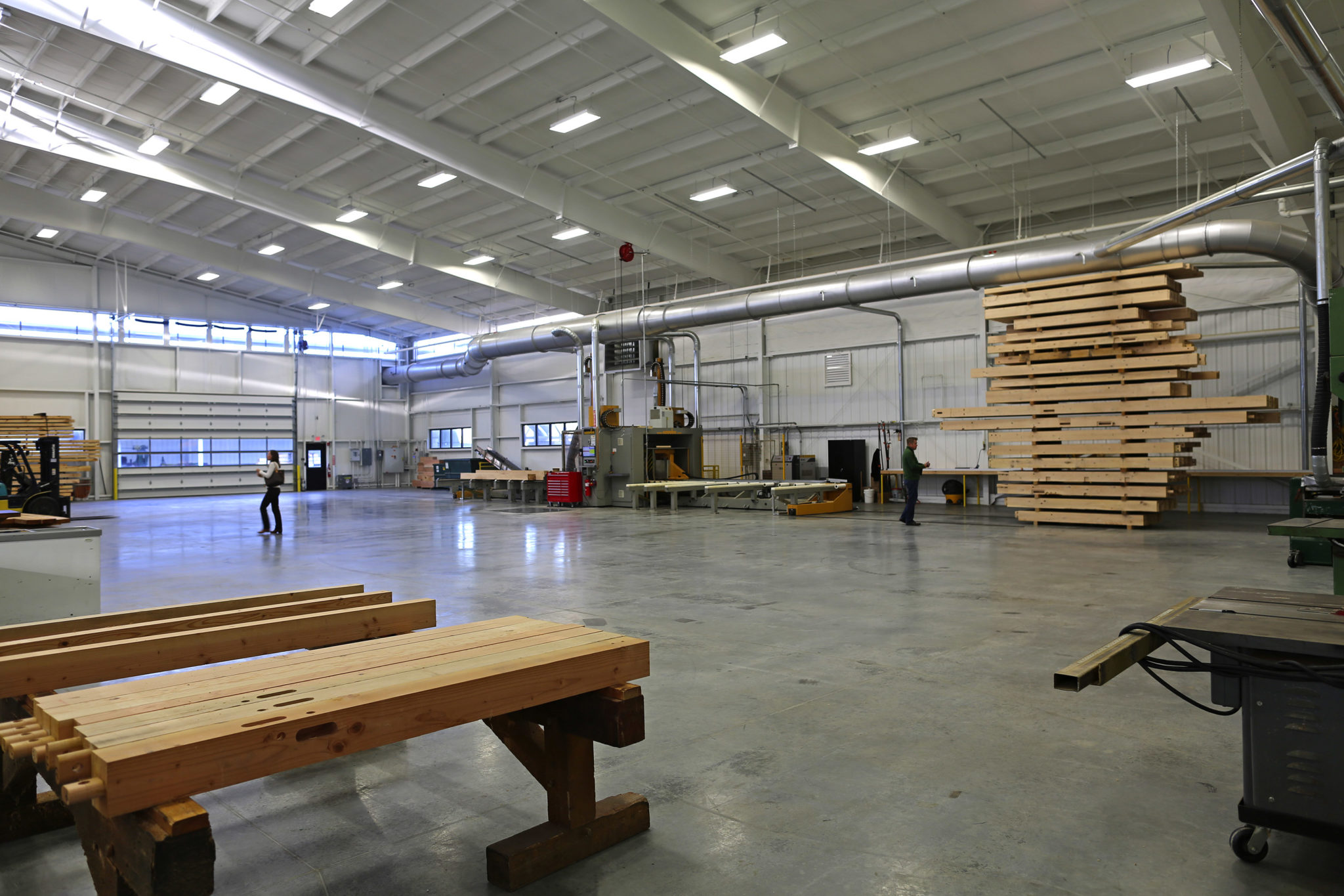 Welcome To Our Facility - A Timber Frame Tour