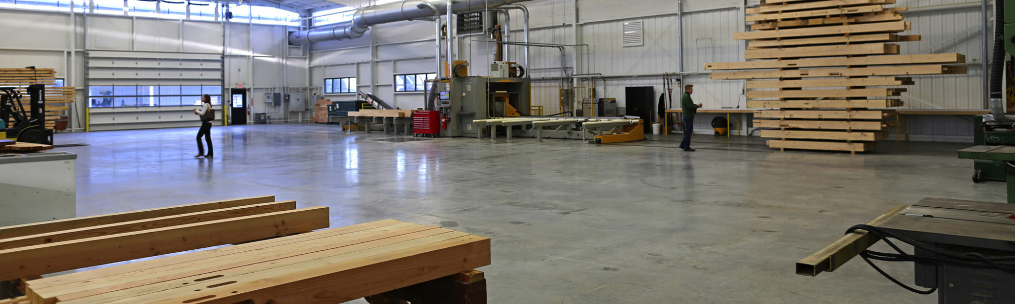 Welcome To Our Facility – A Timber Frame Tour