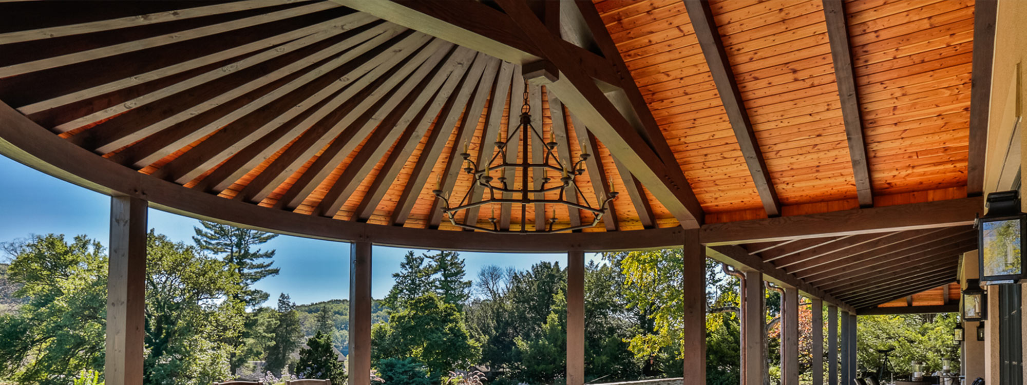 Learn more about Mid-Atlantic Timberframes timber frame pergolas and pavilions