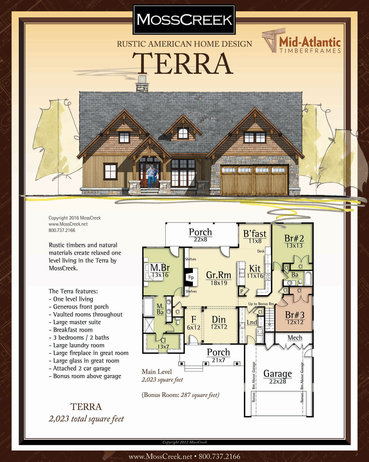 Terra Timber Frame Home Plans