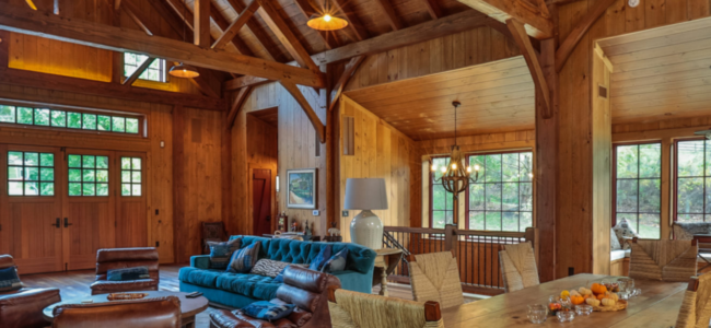 Timber Frame Party Barn: Plan Your Own