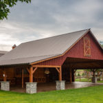 Timber frame commercial building