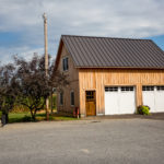 Timber frame carriage barn