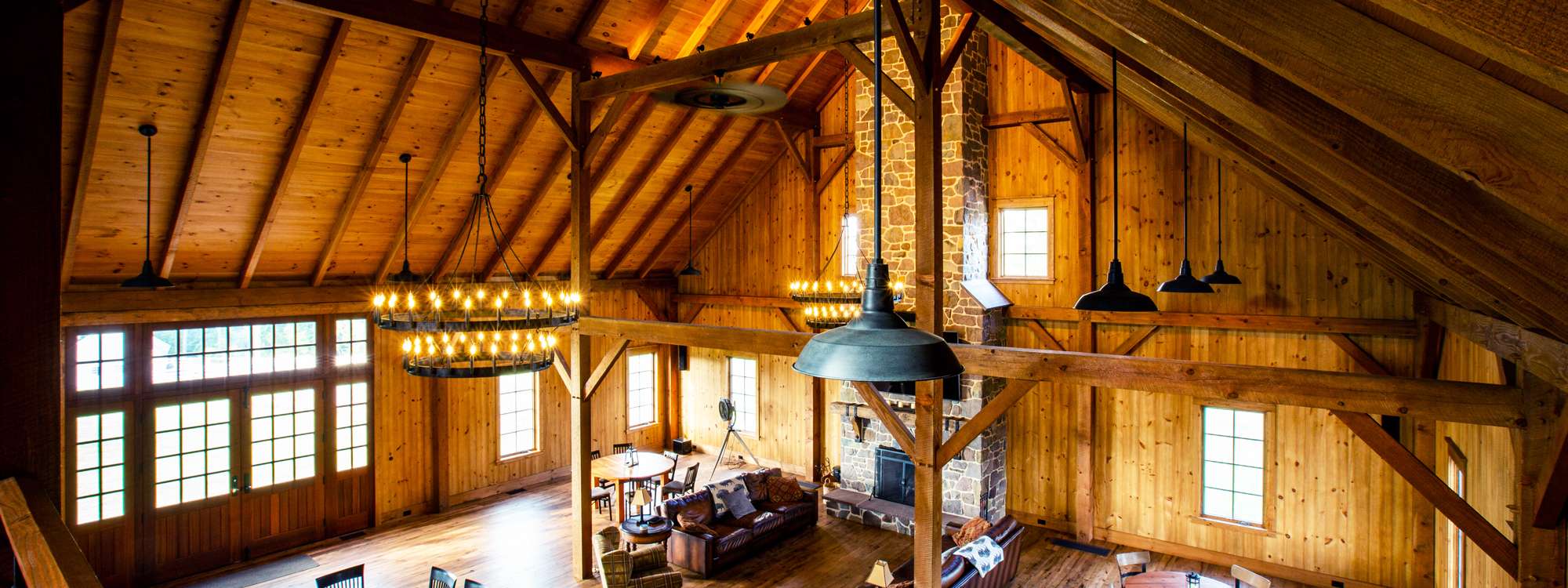Timber Frame Party Barn