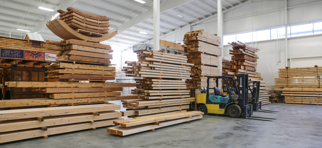 Timber Frames: The Fabrication Process